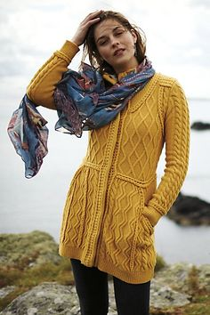 love this cable knit sweater jacket #anthrofave http://rstyle.me/n/sp7thr9te