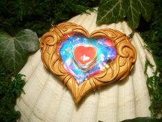 Zelda Heart Container, huh? Must be fake. She has no heart.