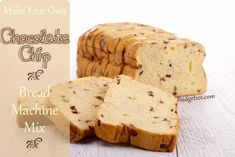 Create your own Chocolate Chip Bread machine mix! This simple make ahead mix recipe makes a wonderful addition to gift baskets or as a simpl...