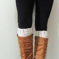 Basic Boot Cuffs - via @Craftsy