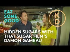 In this video, Kim D'Eon talks with Australian filmmaker Damon Gameau about his film, 'That Sugar Film,' where he lends his body to a sugar science experimen. Healthy Tips, Healthy Choices, Have A Laugh, Weight Loss, Science, Sugar, Health Foods, Film