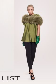 fur and green