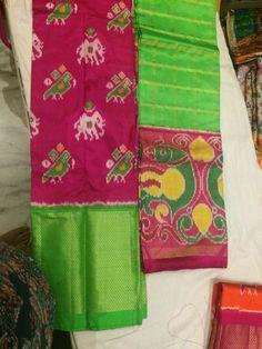 Ikkat Silk  - Lehangas