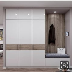 Eat-in kitchen interior - Modern Wardrobe Interior Design, Wardrobe Door Designs, Wardrobe Design Bedroom, Bedroom Bed Design, Bedroom Furniture Design, Wardrobe Doors, Home Room Design, Home Interior Design, House Design