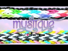 NEW Mystique Rainbow Loom Bracelet Tutorial | How To | Rainbow Loom Fans