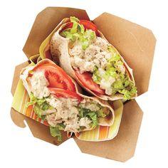26 Must-Try Lunchbox Updates | Tuna-Salad Pita  | MyRecipes.com