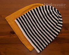 Crochet hat - Long beanie with double crochet or treble crochet - crochet pattern