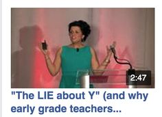"""The LIE about Y"" (and why early grade teachers 'tell it' to their class EVERYDAY!)....Follow for Free ""too-neat-not-to-keep"" teaching tools & other fun stuff :)"