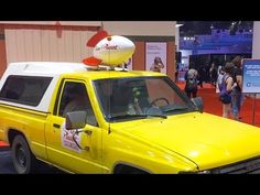 D23 Expo 2015: Real life Pizza Planet truck built by Pixar fans | Inside the Magic