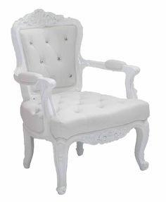 French-Baroque-Rococo - Nikki Side Chair: The High Style Collection.