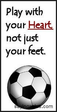 vintage Youth Soccer Motivational Quotes | a