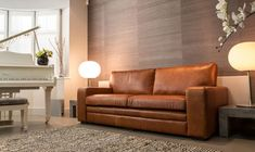 Natural Leather Sofas