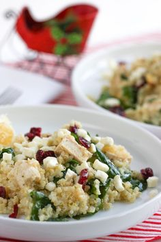 Quinoa with Chicken and Greens