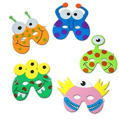 Party Ark's 'Little Monster Foam Mask'