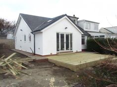 bungalow extensions - Google Search Building Extension, Roof Extension, Extension Ideas, Bungalow Extensions, House Extensions, Bungalow Conversion, Kim House, Single Storey Extension, House Makeovers
