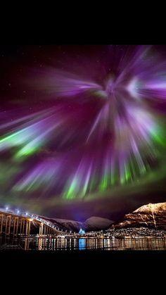 Tromso, Norway - Till Augustin - Re-Wilding Tromso, Beautiful Norway, Beautiful Sky, Beautiful Landscapes, Northen Lights, Skier, Lillehammer, Natural Phenomena, Bergen