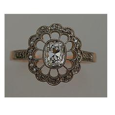 Deco Diamond Ring.