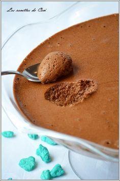 Mousse au chocolat au caramel au beurre salé