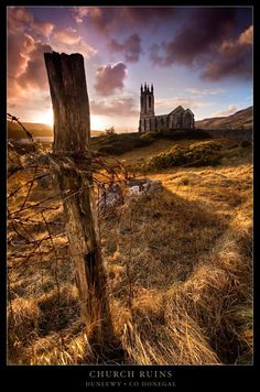 Dunlewy Church Ruins - Gweedore, Donegal