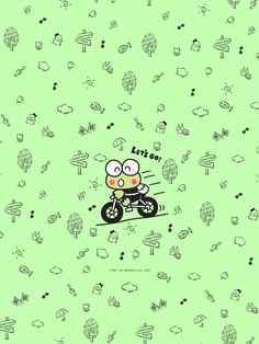 Hello Kitty Characters, Cute Characters, Iphone Wallpapers, Wallpaper Backgrounds, Keroppi Wallpaper, Paul Frank, Print Ideas, Poster Ideas, Animal Wallpaper