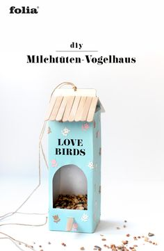 DIY DIY birds out of milk cartons & tetra packs I upcycling I with instructions & crafting template Recycled Crafts, Diy And Crafts, Diy For Kids, Crafts For Kids, Bird Houses Diy, Animal Projects, Toddler Activities, Upcycle, Birds