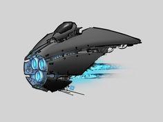 Ship sketch by Mr--Einikis on DeviantArt