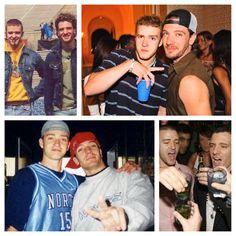 JC chasez and Justin Timberlake of Nsync