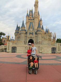 Magic Kingdom itinerary with young children