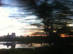 Daugavpils from bus window, 5 am http://kontramax.com