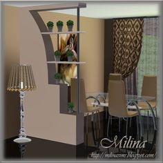 decorative partition wall | Decorative Partitions by Milina
