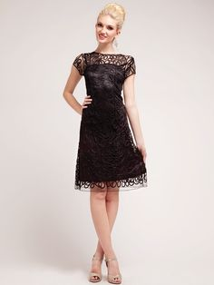 Lace Overlay Sheath Dress | Sung Boutique L.A.