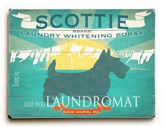 Scottie Personalized Wooden Bathroom Decor, Laundry Room Art, Scottie Decor, Pet Art For Bath - All breeds available by request by HappyLetterShop on Etsy https://www.etsy.com/listing/281321426/scottie-personalized-wooden-bathroom