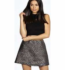 boohoo Ellie Metallic Quilted A-Line Skirt - silver Streamline your style in a sleek skirt . Take your style to new lengths, whether it's micro minis or split side maxis, or flirt with the feminine side of fashion in a form fitting pencil skirt. Our st http://www.comparestoreprices.co.uk/skirts/boohoo-ellie-metallic-quilted-a-line-skirt--silver.asp