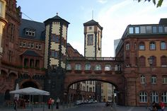 Frankfurt, Germany - Old Town. I lived in Frankfurt when I was 10-11 years old. My dad was stationed in the Army there. Wonderful memories...