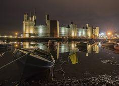'Night On The Moorings' Kris Williams - Caernarfon Castle