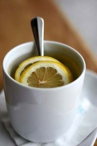 An old home remedy for sore throats is a tea made with lemon, apple cider vinegar, cayenne, and honey. Add one teaspoon of apple cider vinegar, a tiny pinch of cayenne pepper, the juice of 1/4 lemon, and one teaspoon of honey to a cup of hot water and stir. Typically, up to four cups a day is suggested.