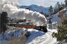 Durango Colorado - Silverton Train Winter