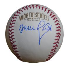 SF Giants Dave Righetti signed Rawlings 2014 World Series official game baseball w/ proof photo.  Proof photo of David signing will be included with your purchase along with a COA issued from Southwestconnection-Memorabilia, guaranteeing the item to pass authentication services from PSA/DNA or JSA. Free USPS shipping. www.AutographedwithProof.com is your one stop for autographed collectibles from San Francisco Bay Area teams. Check back with us often, as we are always obtaining new items.