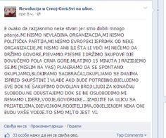 Немири из Босне се шире: Позив на револуцију у Црног Гори - http://www.vaseljenska.com/vesti/nemiri-iz-bosne-se-sire-poziv-na-revoluciju-u-crnog-gori/