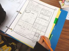 First Grade Wow: Math Notebooking - brilliant with free downloads!