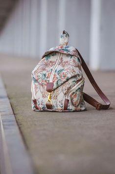DelariBag#1 Mein erster eigener Selfmade-Rucksack, den Schnitt dazu findet ihr bei Dawanda oder Alles für Selbermacher.