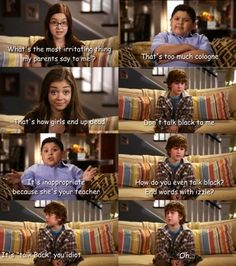 Modern Family. Gosh I love this show!