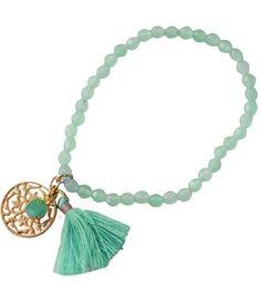 Armband mint #ohsohip #tasselbracelet #cute #ibiza #summer #armcandy