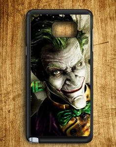Joker Face Batman Arkham City Samsung Galaxy Note Edge Case