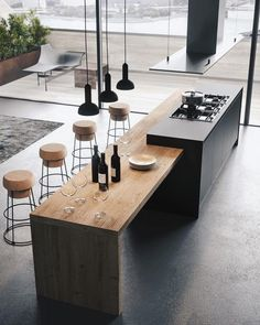 """Outstanding """"outdoor kitchen designs layout patio"""" detail is available on our website. Read more and you wont be sorry you did. Modern Kitchen Tables, Modern Kitchen Island, Outdoor Kitchen Design, Home Decor Kitchen, Interior Design Kitchen, New Kitchen, Kitchen Designs, Kitchen Ideas, Kitchen Layout"""