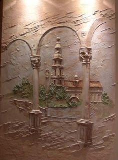 Декоративные штукатурки и барельеф в Днепропетровске | Декор стен в Днепропетровске