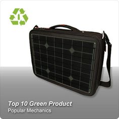 Generator Solar Laptop Charger    Available about March 1st. The Voltaic Generator Solar Laptop Charger powers a mobile office. It uses high-efficiency cells and includes a battery pack custom designed to efficiently charge from solar power. It will also charge cell phones, tablets cameras, and most other hand held electronics. MacBooks require an optional MagSafe adapter.