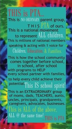 our PTA needs this on the door!