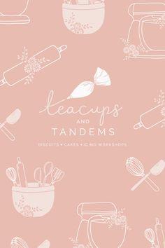 Logo & Branding design for Teacups & Tandems - by Bea & Bloom Creative Design Studio