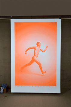 Tom Henni 150 affiches originales improvisées pour Spontanéous, festival de l'impro à lyon